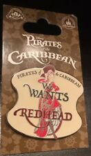 Walt Disney World Pirates Of The Caribbean We Wants The Redhead Pin