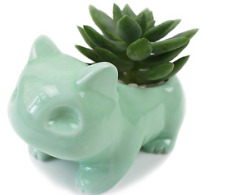 Pokémon go Pocket Monster Bulbasaur green Plant Flowerpot Succulents Ceramic Pot