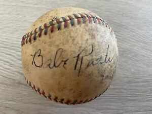 Babe Ruth Signed American League Baseball
