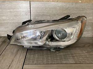 2015 2016 2017 2018 Subaru WRX Headlight Assembly Left Driver 84001VA031 OEM