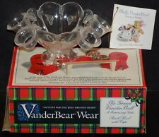 MUFFY VANDERBEAR GRAND VANDERBALL A FUNRAISING GALA PUNCH BOWL WITH CUPS 5342