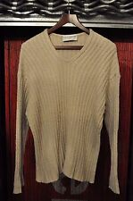 Dolce And Gabbana Maglie V Neck Sweater Jumper Beige - Size 50