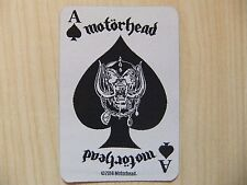 Patch ricamate-Motörhead-Ace of Spades CARD IRON MAIDEN