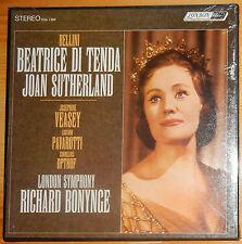 SEALED==JOAN SUTHERLAND, LUCIANO PAVAROTTI; RICHARD BOYNGE; LONDON STEREO 3 LPS