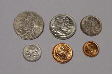 1976 Australian 1c to 50c coin set. Higher grades.