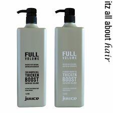 Juuce Full Volume Shampoo and Conditioner 1lt Duo