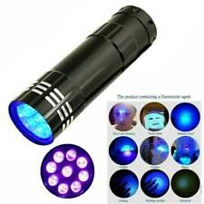 UV Ultra Violet LED Flashlight Blacklight Light 395/365 Inspection Lamp Torch YK