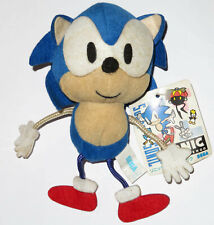 "V RARE ""STRINGY"" JAPANESE SONIC THE HEDGEHOG PLUSH! 1991 UFO PRIZE DOLL STRING"