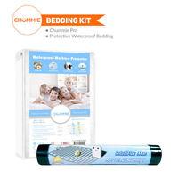 Chummie PRO Bedside Bedwetting Alarm Bedding Kit (Alarm + Waterproof Bedding)