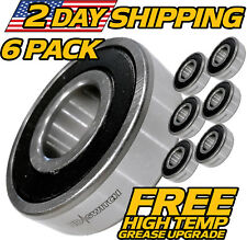 (6 Pack) Great Dane Spindle Bearings D18045, 200046 - HEAVY DUTY UPGRADE