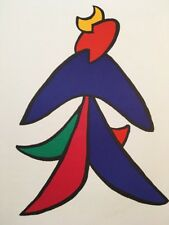 Alexander Calder, Vintage Original Lithograph, Maeght Paris, 1963 DLM Dancer