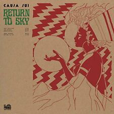 LP CAUSA SUI RETURN TO SKY  STONER ROCK PYCH LTD 500 GREEN VINYL