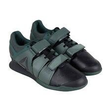 Reebok legado levantador CN4734 Hombre Negro Atlético Gimnasio Low Top Zapatos de Halterofilia
