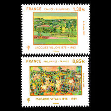France 2017 - Diplomatic Relations with the Philippines Art - Sc 5259/60 MNH