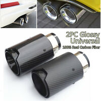 BLACK M Performance Real Carbon Fiber Exhaust Pipe Tip for BMW 2 3 4 5 6 Series