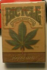 Bicycle Playing Cards Hemp Leaf Design Sealed