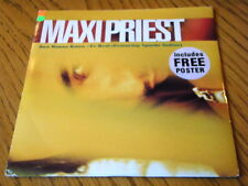 """MAXI PRIEST - JUST WANNA KNOW  7"""" VINYL PS + POSTER"""