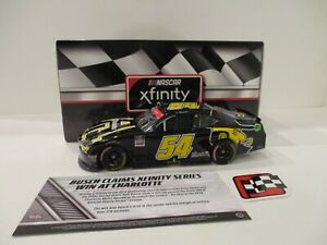 KYLE BUSCH  .. signed 2020 .. APPALACHIAN STATE .. CHARLOTTE WIN .. 1/24 CAR