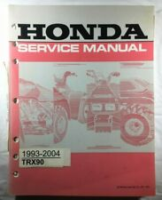 Nos Oem 1993 - 2004 Honda Trx90 Atv Motorcycle Factory Service Manual