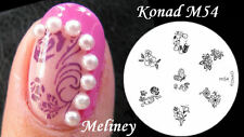 Konad Image Plate M54 for Stamping Nail Art Transfer Stencils