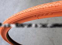 Duro 700 x 25C Tire - Orange x 2 (1 pair) Fixie Fixed Gear Road Bike Bicycle