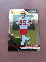 Armani Watts Rookie Card: 2018 Panini - Prizm Football - Kansas City Chiefs