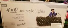 NOMA Christmas Lights -4' x 6' Net-Style - 150 Clear Lights