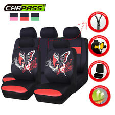 Universal Car Seat Covers Red Chinese Facebook Four Season For SUV VAN TRUCK VW