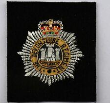 The Devonshire Regiment, Blazer Badge Wire Bullion, LI-EMB-0031