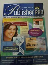 Art Explosion Publisher Pro 3.0  Software Windows - NEW Factory Sealed