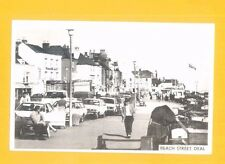 DEAL BEACH STREET POST CARD (PHOTO) BY CASTLE PRINTERS OF DOVER