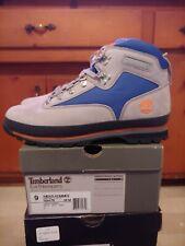 Timberland Euro Hiker Grey Blue Orange Size 9