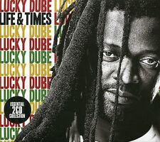LIFE & TIMES LUCKY DUBE - 2 CD BOX SET - HOUSE OF EXILE, LOMUZI & MORE