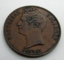 Australia 1857 Holloway Trade Token Pills And Ointment
