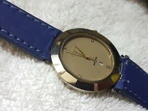 Vintage Rado Diastar Quartz Date Men Gents Swiss Made Best Condition Wrist Watch