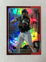 COURTNEY HAWKINS 2015 Bowman Chrome RED SP RC REFRACTOR 5/5! TRUE 1/1! WHITE SOX