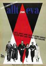 Film all about eve 04 A3 Box Toile imprimer