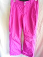 Women's Pink Columbia Snow Pants size M Skiing,Snowboarding Adjustable Waist
