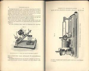 EARLY WIRELESS TELEGRAPHY 1908 TELEPHONY RADIO TELEGRAPHIE SANS FIL