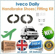 For Iveco Daily 29L 35C 35S 50C 65C Rear Handbrake Shoes & Shoe Fitting Kit New