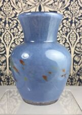 Mid-20th Century Scottish Glass Vasart Vase 'V037' Monart/Ysart Interest
