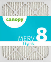 "6x30x1 Canopy Filters MERV 8 air filter, 6"" x 30"" x 3/4"", Box of 6"