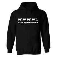 Cow Whisperer Mens Printed T Shirt Hoodie Farmer Farm Funny Xmas Gift Top Tees