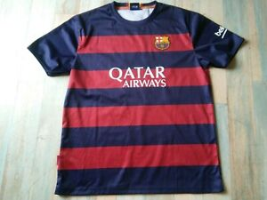 MAILLOT FOOT FCB BARCELONE QATAR N°10 MESSI TAILLE XL/D7 TBE