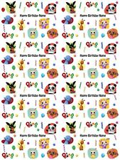 Bing Personalised Birthday Gift Wrapping Paper ADD NAME CHOOSE BACKGROUND