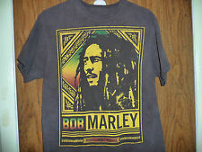 BOB MARLEY ROOTS ROCK REGGAE GRAPHIC T SHIRT SIZE M BLACK