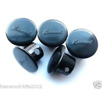 5 X Kenwood Chef A700, 700A, 700B & 700D Front Attachment Covers In Black  *New*