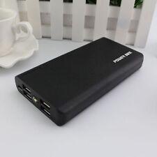 Black 500000mAh Dual 4 USB Portable Power Bank Battery Charger Mobile Phone ipad