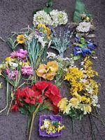 Potpourri KONVOLUT Tischdeko Blumen Gesteck Kunstblumen Tisch DEKO Kunstpflanzen