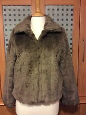 Petite Faux Fur Coats & Jackets without Pattern for Women